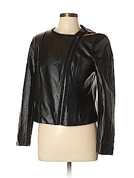 Ellen Tracy Faux Leather Jacket Size L