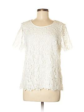 Philosophy Republic Clothing Short Sleeve Blouse Size M