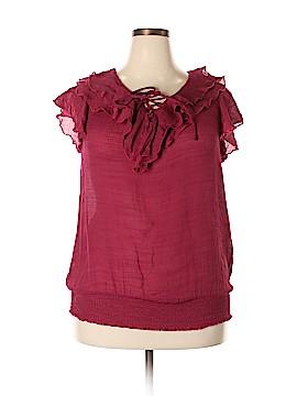 J.t.b. Short Sleeve Blouse Size 2X (Plus)