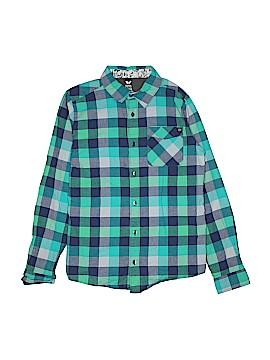 Shaun White Long Sleeve Button-Down Shirt Size 16