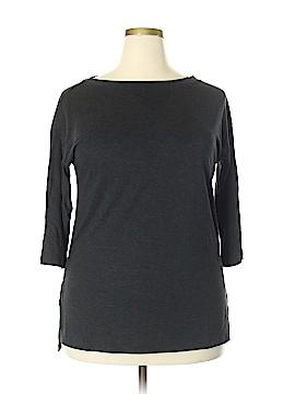 Uniqlo 3/4 Sleeve Top Size L