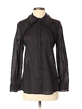 TOV Long Sleeve Button-Down Shirt Size 38 (Plus)