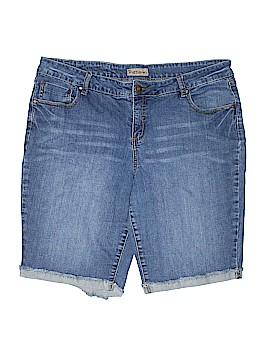 Ruff Hewn Denim Shorts Size 18 (Plus)