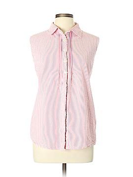 L.L.Bean Sleeveless Button-Down Shirt Size XL