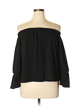 Boohoo Boutique 3/4 Sleeve Blouse Size 16