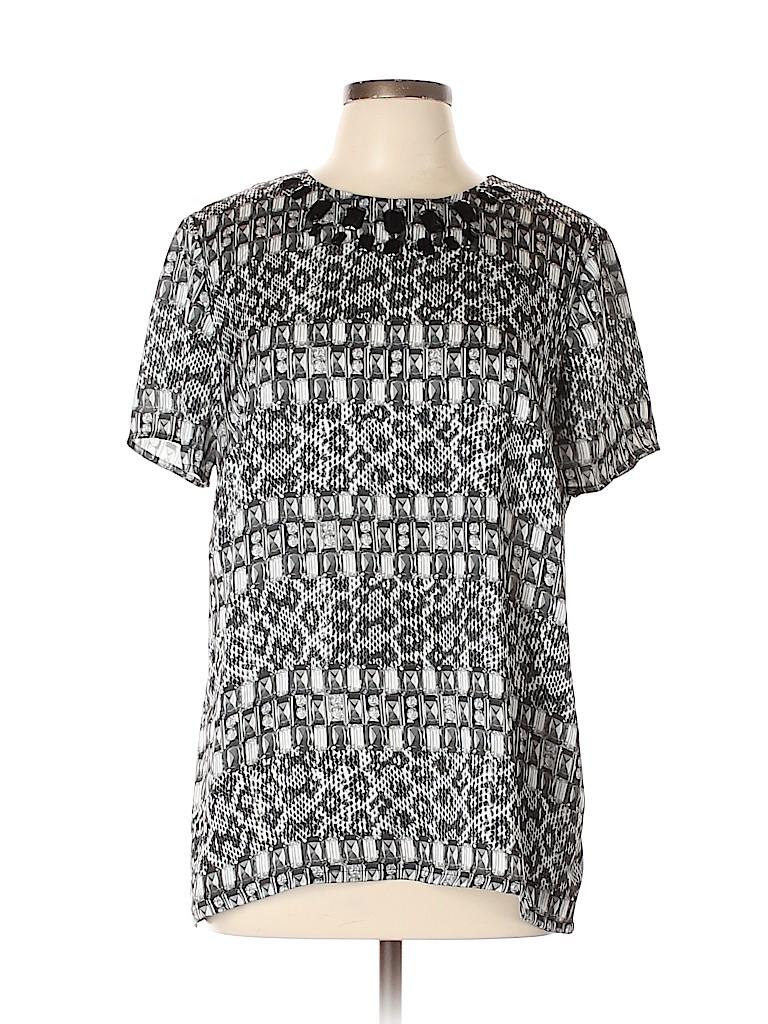 MICHAEL Michael Kors Women Short Sleeve Blouse Size 12
