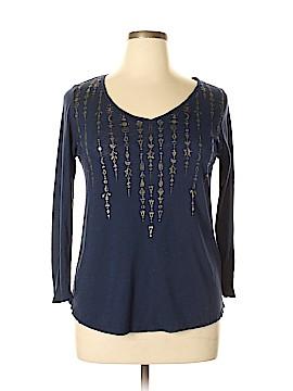 Lucky Brand 3/4 Sleeve T-Shirt Size L
