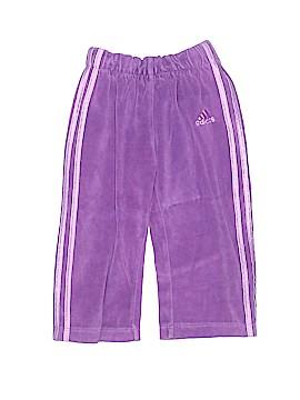 Adidas Velour Pants Size 12 mo