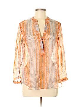 Zoa Long Sleeve Button-Down Shirt Size M