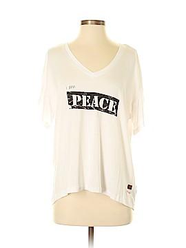 Peace Love World Short Sleeve T-Shirt Size XS
