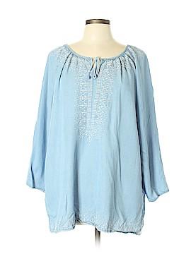 J.jill Long Sleeve Blouse Size XL (Tall)