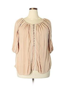 Japna 3/4 Sleeve Blouse Size 1X (Plus)