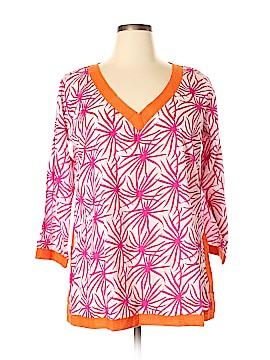 Gretchen Scott Designs Long Sleeve Blouse Size XL