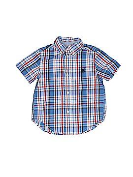 Chaps Short Sleeve Button-Down Shirt Size 2T - 2