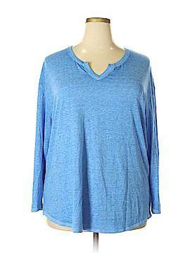 Faded Glory Long Sleeve T-Shirt Size 18 - 20 (Plus)