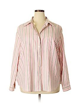 Allison Daley Long Sleeve Button-Down Shirt Size 22 (Plus)