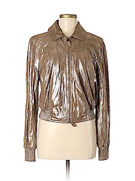Rene Lezard Leather Jacket Size 38 (EU)