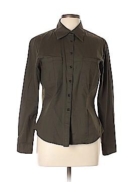Gemilli Long Sleeve Button-Down Shirt Size L