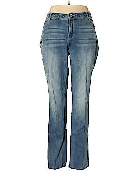 Midnight Velvet Jeans Size 16