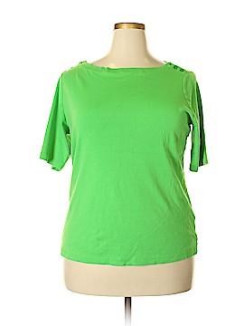 Jones New York Sport 3/4 Sleeve Top Size 3X (Plus)
