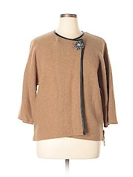 JM Collection Wool Cardigan Size L