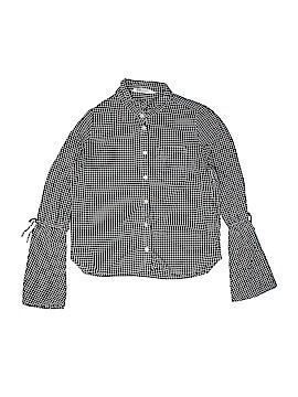 H&M Long Sleeve Button-Down Shirt Size 13 - 14
