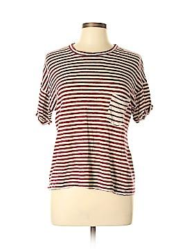 H by Bordeaux Short Sleeve Top Size L