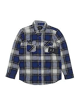RVCA Long Sleeve Button-Down Shirt Size 9