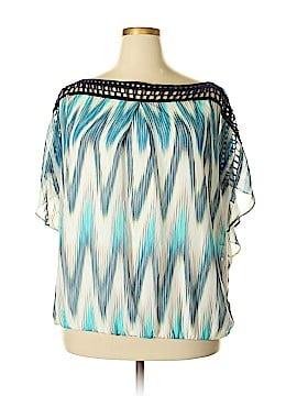 Alyx Short Sleeve Blouse Size 2X (Plus)
