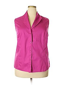 Jones New York Collection Sleeveless Blouse Size 24 (Plus)