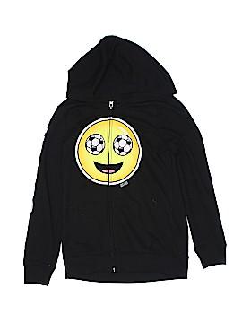 Justice Zip Up Hoodie Size 8 - 10