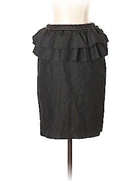 Bisou Bisou Denim Skirt Size 4
