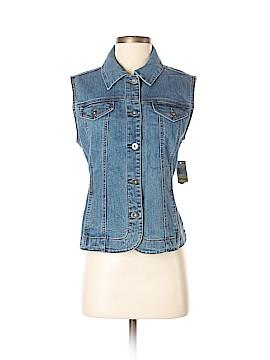 Charter Club Denim Vest Size M (Petite)