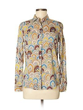 JM McLoughlin Long Sleeve Button-Down Shirt Size 4