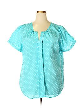 Millenium Short Sleeve Blouse Size 2X (Plus)