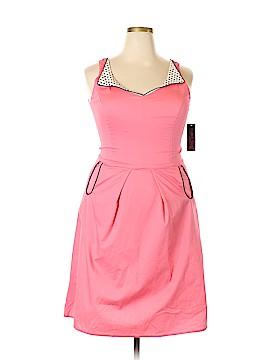 Rock Steady Casual Dress Size 2X (Plus)