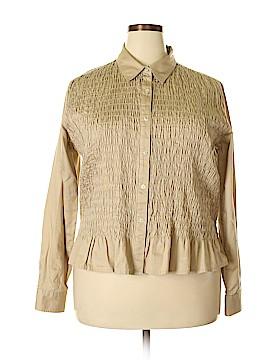 Lizwear by Liz Claiborne Long Sleeve Blouse Size XL