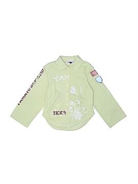 IKKS Long Sleeve Button-Down Shirt Size 3