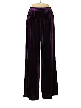 Quacker Factory Fleece Pants Size S