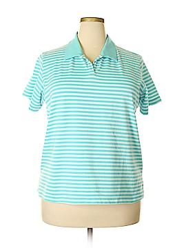 Allison Daley Short Sleeve Polo Size XL