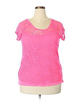 Bobbie Brooks Short Sleeve Blouse Size 2X (Plus)