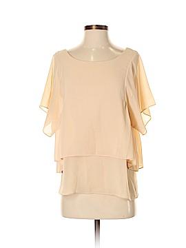 Nu Short Sleeve Blouse Size Sm - Med