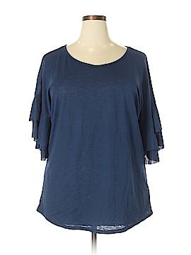 Scarlett 3/4 Sleeve Blouse Size 1X (Plus)