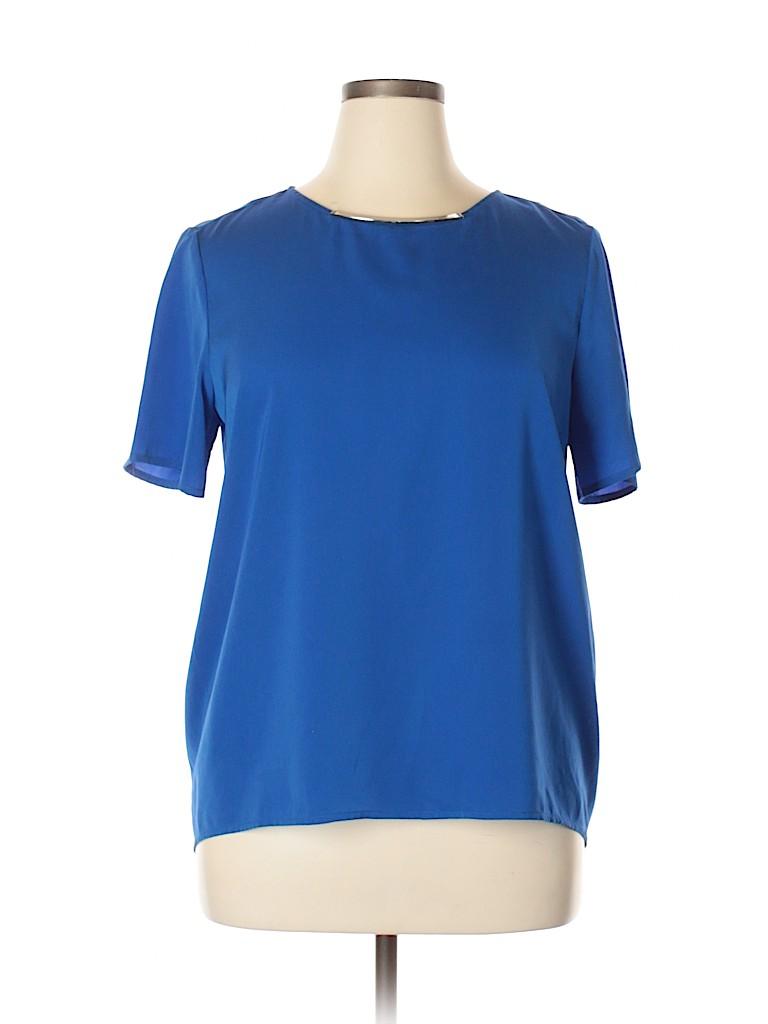 MICHAEL Michael Kors Women Short Sleeve Blouse Size 14