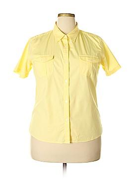 Northcrest Short Sleeve Button-Down Shirt Size XL