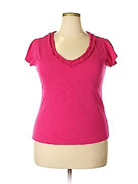 Grace Elements Short Sleeve Top Size XL