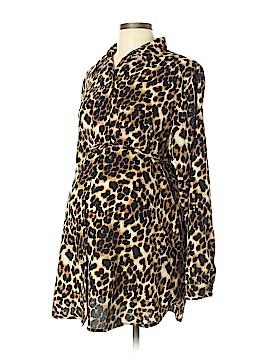 Oh! Mamma Long Sleeve Blouse Size XL (Maternity)