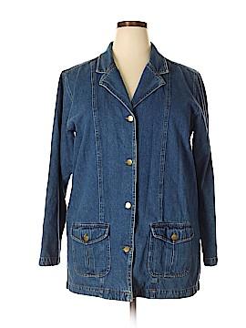 BEDFORD FAIR lifestyles Denim Jacket Size XL