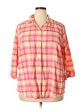 Kim Rogers 3/4 Sleeve Blouse Size 18 (Plus)