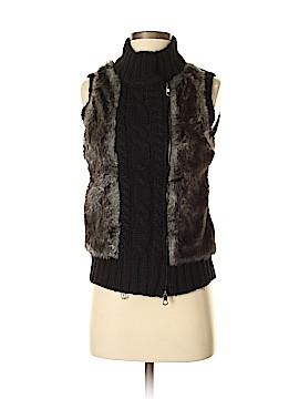 Fenn Wright Manson Faux Fur Vest Size S